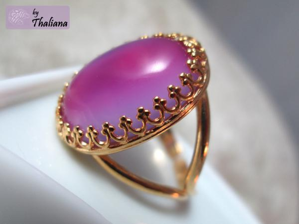 SUPER SALE ***BONBONprinzessin*** Ring rosa Gold