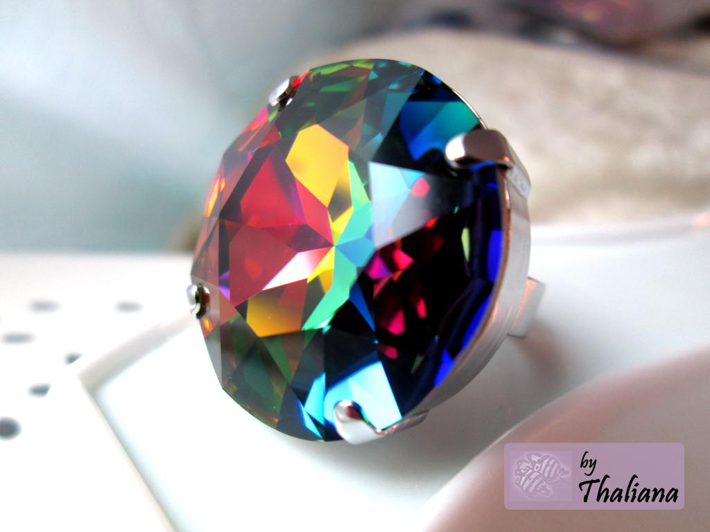 thaliana shop xxl ring farbexplosion2 bunt gro xxl. Black Bedroom Furniture Sets. Home Design Ideas